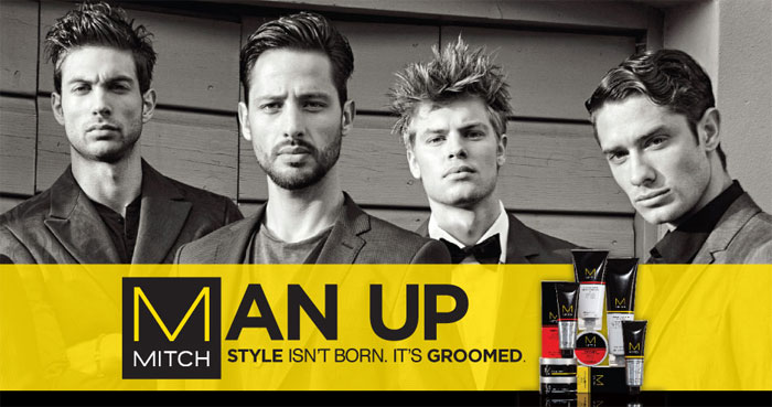 Man Up by Paul Mitchell