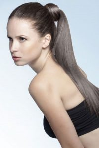 ponytail hairstyles at smith & Smith hair salon in Loughborough