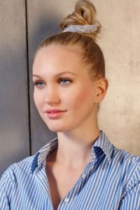 Top knot hairstyles at Smith & Smith hair salon in Loughborough